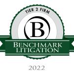 Benchmark Litigation Tier 2 2022